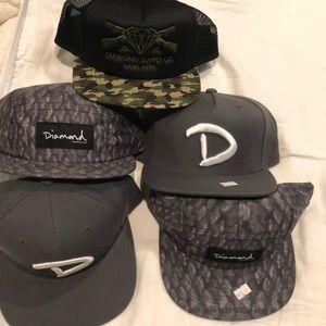Diamond SnapBack hats